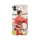 mi-ya.@完全体ニャースの桜mi-ya. Smartphone cases