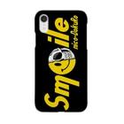 わしの店のnico-DokuRo smile yellow  Smartphone cases