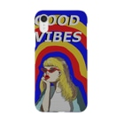 IdontevenknowmynameのGOOD VIBES Smartphone cases
