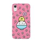ゆーすけひよこのゆーすけひよこ 「米」ピンク Smartphone cases