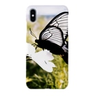 iPhoneケース専門店の蝶と花 Smartphone cases