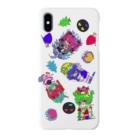 おちゃめるへんらんどの🐯🐉🦌🐍 Smartphone cases