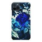 幸運❤happy🌈のBlue Rose 幸運の青い薔薇 Smartphone Case
