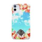 福猫の花壇のハムの夢 Smartphone cases