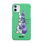 HElll - ヘル - の両手で描いたウサギ Smartphone cases