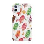 & colorsのアイスキャンディ Smartphone cases