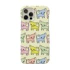 akane_art(茜音工房)のゆるチワワ(ポップ) Smartphone cases