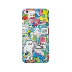 galaxxxyの8words wall paint Smartphone cases