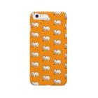 あげまんじうのかわいいネネココ{ネネココいっぱい}オレンジ Smartphone cases