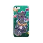 アルルの王子の狐(黒) Smartphone cases