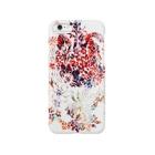 ぷいぷいショップの【Diamond Flowers】HEART Smartphone cases
