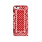 garyu_by_HiRiver_Designのビンテージバンダナver.1red Smartphone cases
