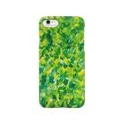 MAKIKOの【GREEN×YELLOW】 Smartphone cases
