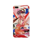 chisacollageのあっかんべー Smartphone cases