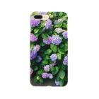 発芽世界観の紫陽花 Smartphone cases
