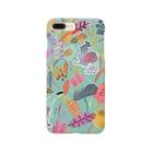 sampoのcolorful garden Smartphone cases