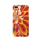 hana_sakiの赤花咲いた Smartphone cases