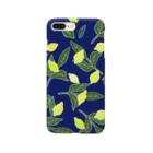 菜っぱの青と檸檬 Smartphone cases