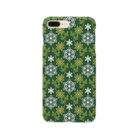 d*ropsのflower & snow Smartphone cases
