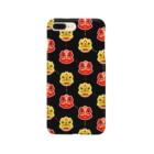 モモイロショップの中華風、新年の獅子舞 Smartphone cases