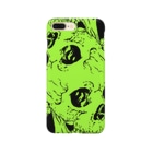 -UZOZ- のtwin skull Smartphone cases