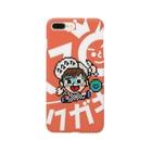 ラクガキヤぐっず♨︎のラクガキヤロゴどーん Smartphone cases
