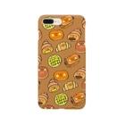 ゴキゲンサンショップの菓子パンズ Smartphone cases