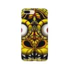 楓の森の虎の面 Smartphone cases