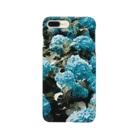 アオフジマキのアジサイ Smartphone cases