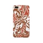 Azumiの模様の赤蔦 Smartphone Case