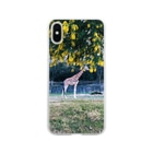 Chisakoのキリンとアカシア Soft clear smartphone cases