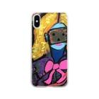 詩餅(うたもち)のoh!ソフィアさん Soft clear smartphone cases