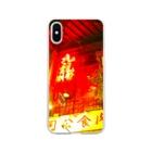 neon light starsの香港九龍カンフー飲茶 Soft clear smartphone cases
