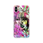 Crazymelon Londonの壊れたハート Broken my heart Soft clear smartphone cases