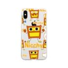 ジェー・オー・ビーのNicchy Soft clear smartphone cases