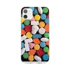 TeeのMDMA スマホケース Soft clear smartphone cases