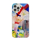 ATELIER SUIのHIDEコラージュ Soft clear smartphone cases