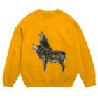 スマホdeイラストレーター・古川 セイのオオカミ Sweats