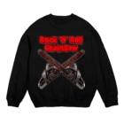 【12moonMonstarZ】トゥエルブムーンモンスターズのロッキンロールチェインソー 赤&鉄色 Sweats