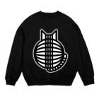 SHOP W SUZURI店の猫の丸い背中 スウェット Sweats