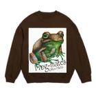 引田玲雄 / Reo Hikitaのカエルメイト(Frog-mates)より「キウイガエル」 Sweats