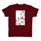 高瀬彩のりんごが降ってくる夢を見た Tシャツ