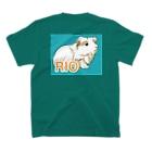 LichtmuhleのRIOちゃん T-shirtsの裏面