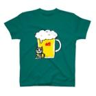 さややん。のお店の生ビール大で T-shirts