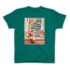 こべびちゃんのお店の窓辺の猫こべびちゃん  T-shirts