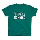 ナントカの💀TODAY'S DINNER💀(ロゴのみ) T-shirts