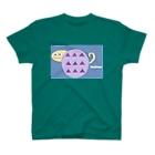 liveto100yearsの謎の生物 T-shirts