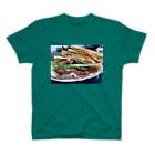 tkdngewkit_szrのサンドイッチ🥪 T-shirts