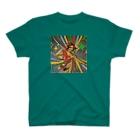 deepflowのパーティーガール Tシャツ グリーン T-shirts