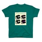 ぴあの ぴあ~のの昭和レトロな黒電話 T-shirts